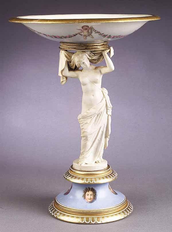 1172: Danish Royal Copenhagen Figural Compote in 2019