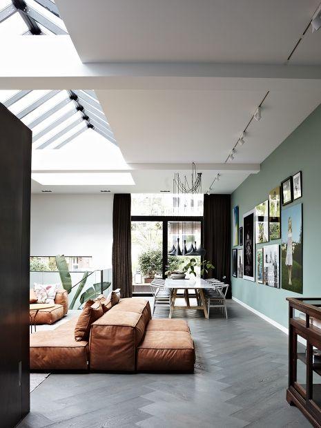 An Open Loft Space Is The Perfect Place For Modern Interior. // Ein Großes  Loft Ist Der Perfekte Ort Für Moderne Einrichtung.