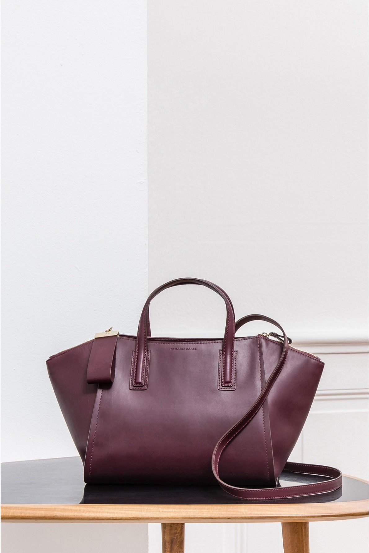 c1aef9104c Bag bordeaux, le visconti | gerard darel | Accessories | Bags ...