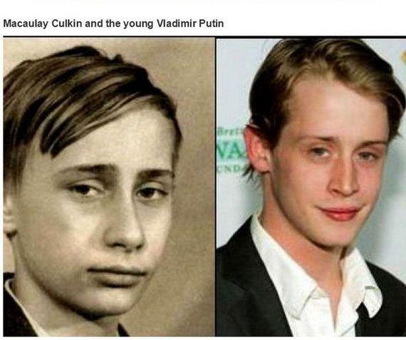 Historical Doppelgangers Of Celebrities Macaulay Culkin Celebrities Look Alike