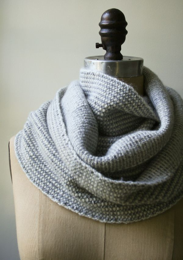 Laura\'s Loop: Reversible Stripes Scarf - The Purl Bee | knit ...