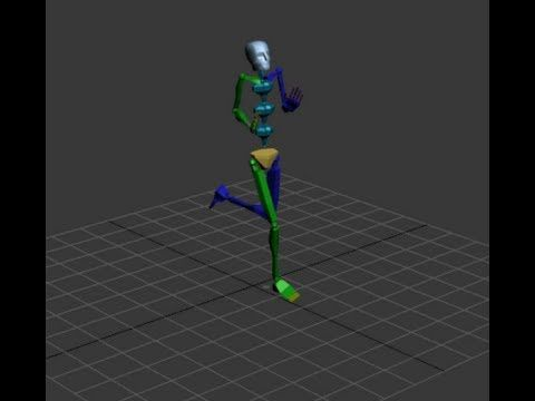 Free Motion Capture Data (2436 bvh files) | resources