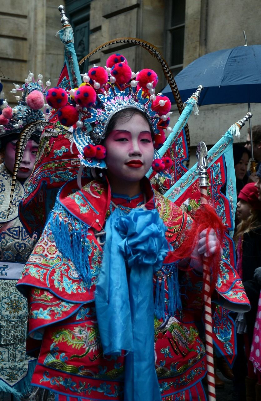 France, Paris, France, Chinese New Year, People france,
