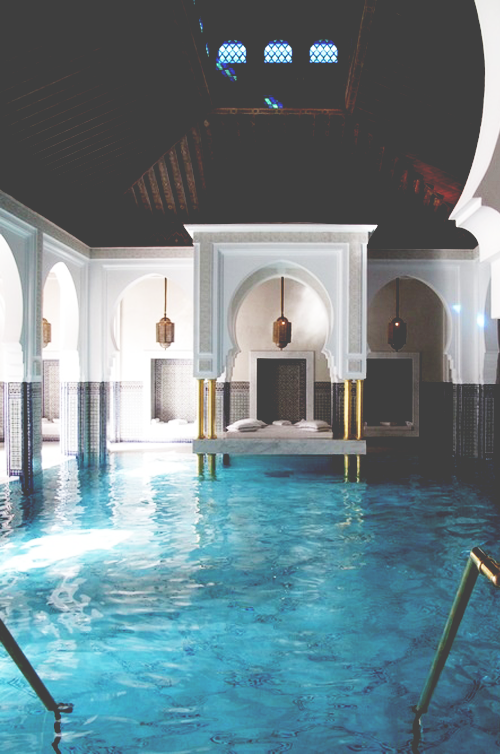 indoor pools   dream home. Exotic destination getaway  I wouldn t want to roll off the bed in