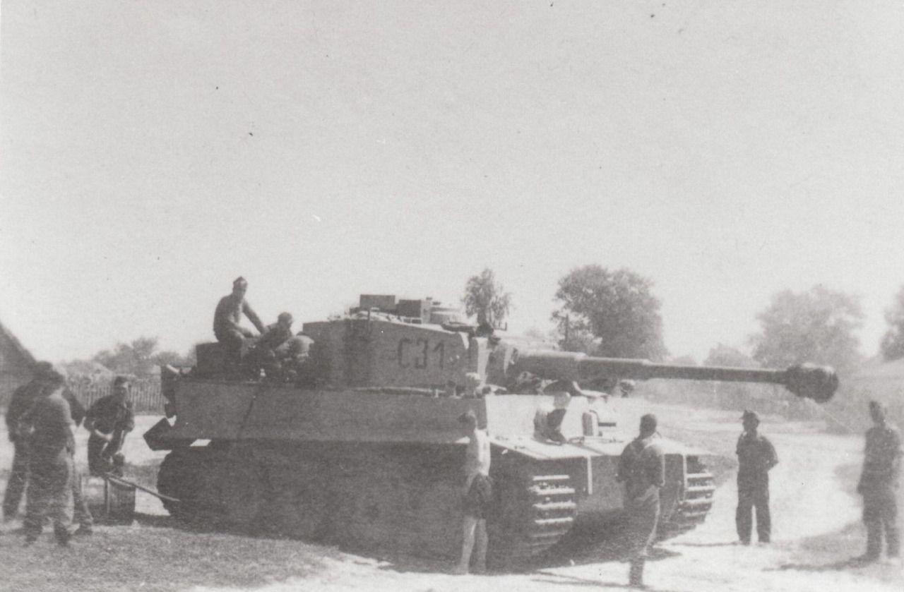 Tiger Tank from 3rd battalion, Grossdeutschland Division