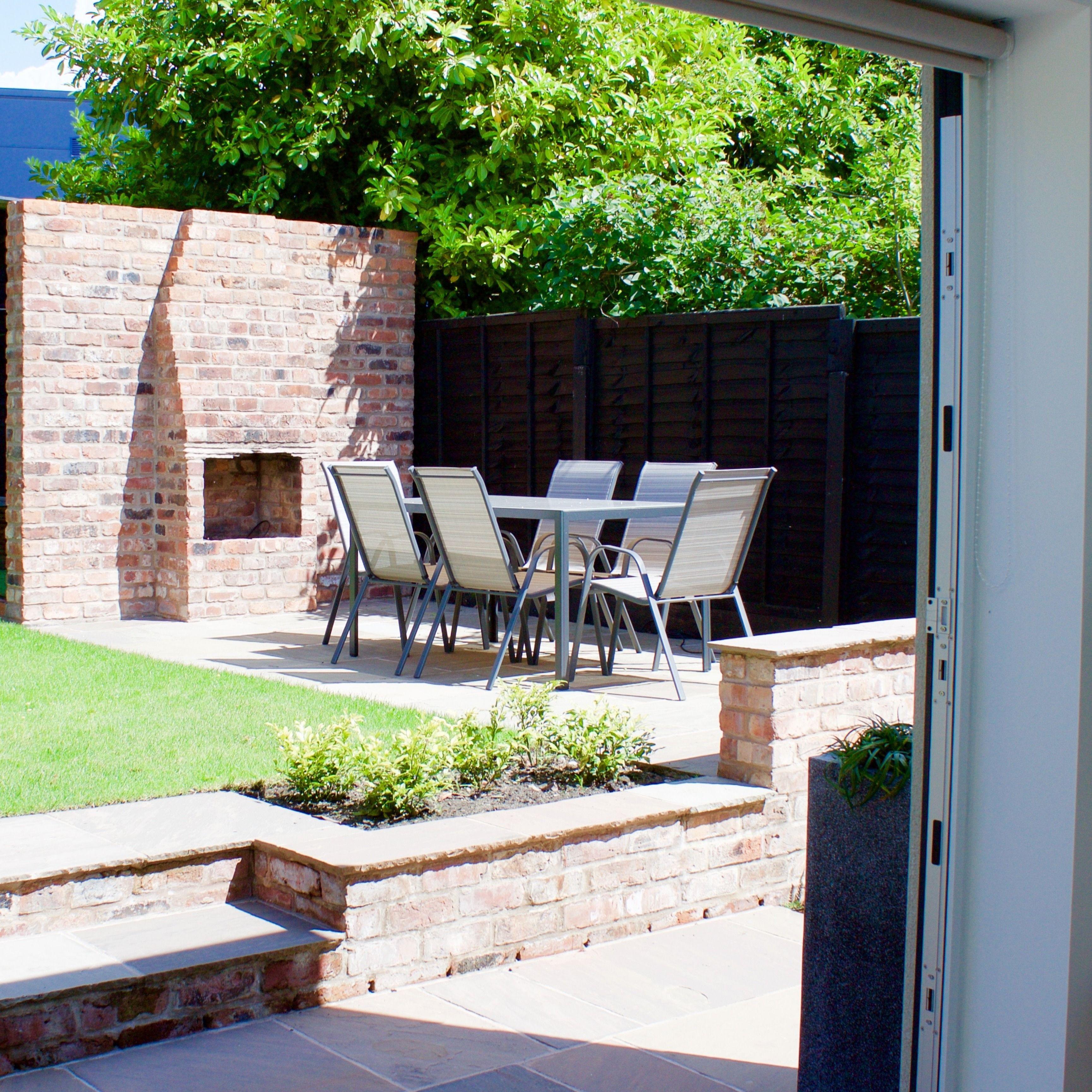 Modern Family Garden Design In Cheshire Manchester Sale Altrincham Hale Bowdon Knutsford Courtyard Design Modern Garden Design Courtyard Gardens Design