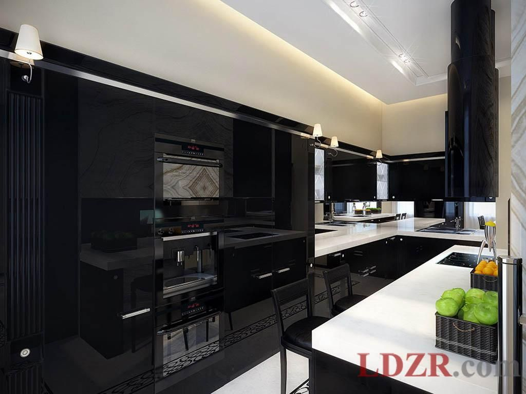 Neueste innenarchitektur schwarz küche schränke  mehr auf unserer website möbel  möbel