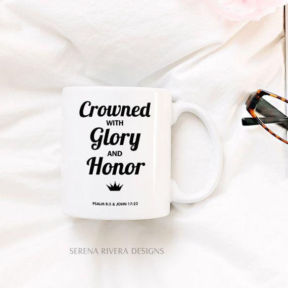 Inspirational Mug Psalm Glory Scripture Gift For Wedding Officiant Minister