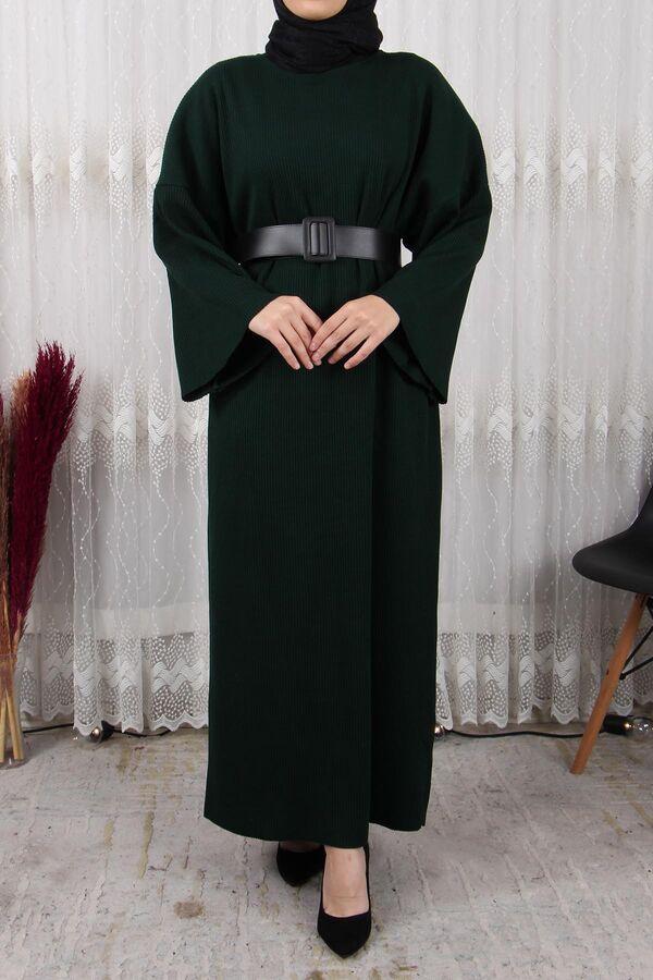 فستان بني تريكو تسوق أون لاين حجاب مودانيسا أزياء محجبات ملابس محجبات فساتين جلباب عباية ملابس فستا Muslim Women Clothing Islamic Clothing Abaya Dress