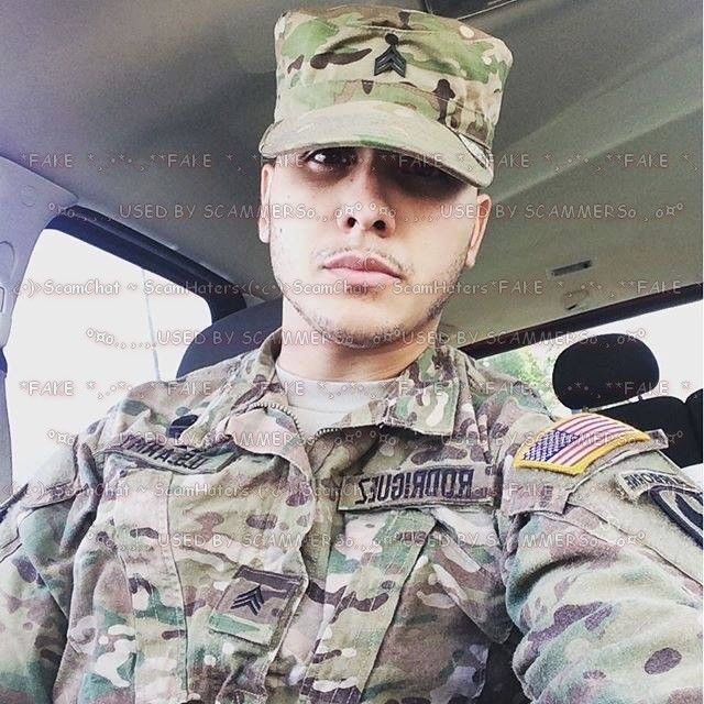 Us army scammers photos