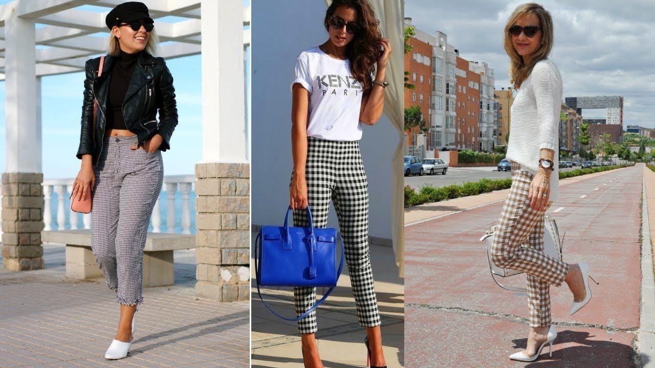 Tipos de pantalones mujer 2018