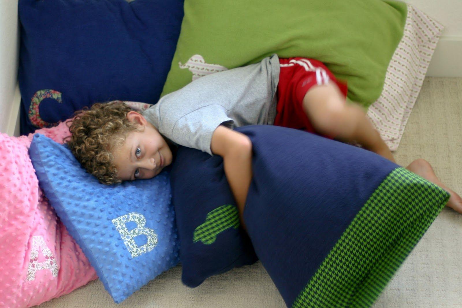 Cozy DIY Pillowcases