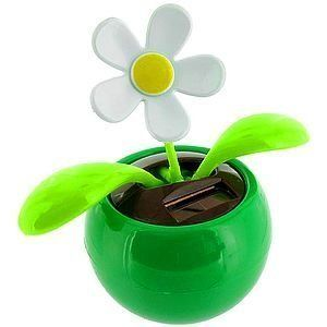 Solar Powered Dancing Flower - sway the day away. $9.95