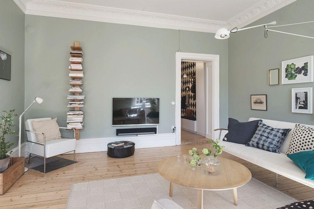 Taupe Muur Woonkamer : Sofa bed met salontafel rond bestemd voor muurverf woonkamer