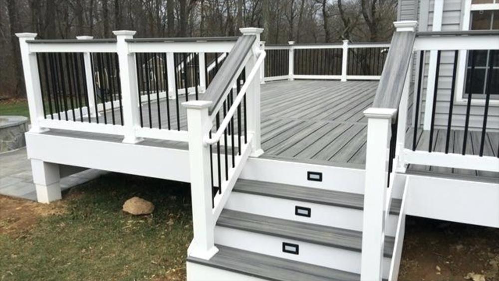 Best Artisan Outdoor Craftsman Trex Decking Railing Trim 400 x 300