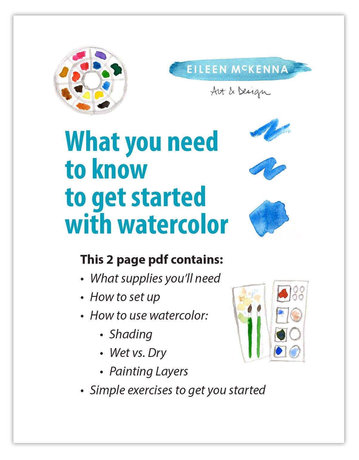 What You Need To Know To Get Started With Watercolor Watercolor