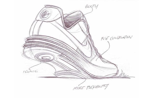 34cd2d85135 Nike Lunar Force 1 - 25 Must-See Design Sketches of Your Favorite Sneakers    Complex