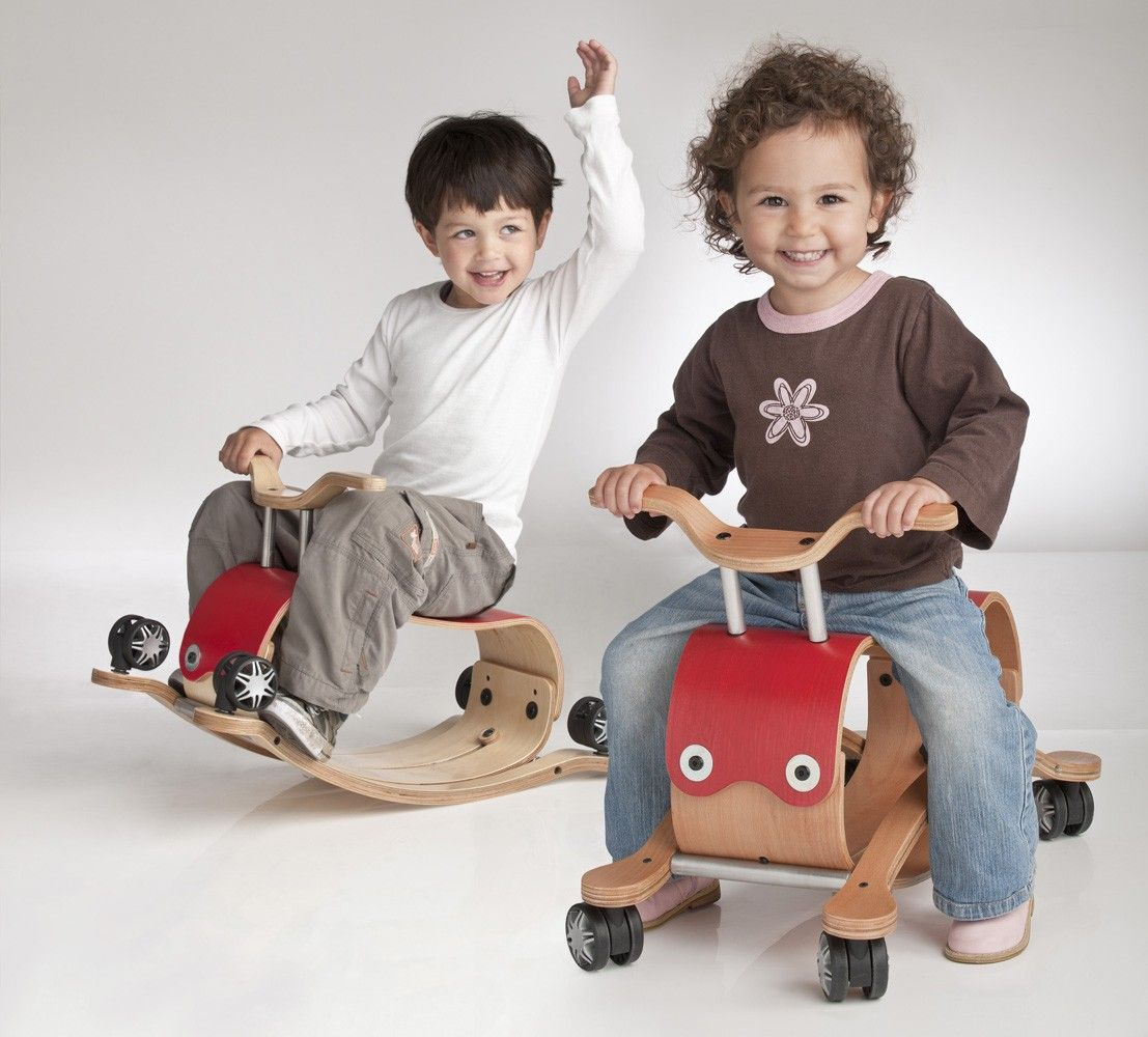 Wishbone Flip Ride-on Rocking Toy for 1 to 5 year olds