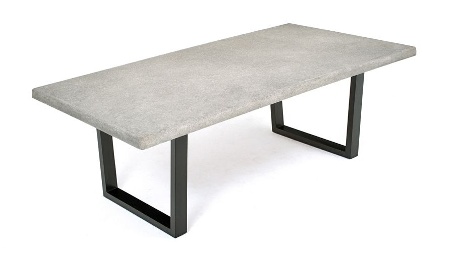 Outdoor Table Patio Table Modern Concrete Dining Table Urban - Woodland patio furniture