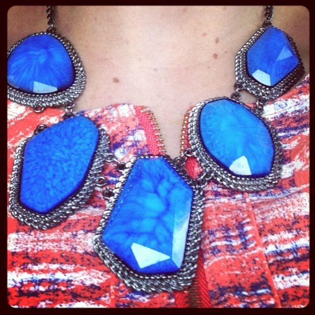 Cobalt blue jewels