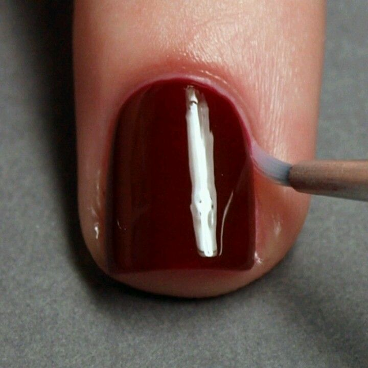 Erase mistakes by dipping a tiny brush into nail polish remover ...