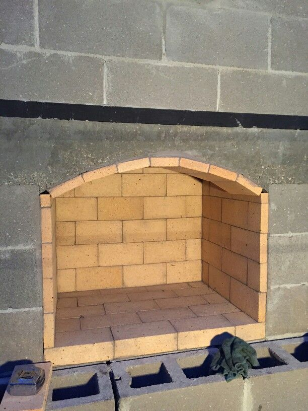 Look at this gorgeous firebrick install in a Backyard Flare DIY ...