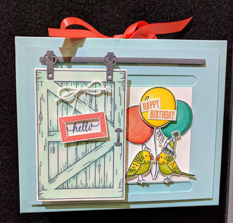 Stamping Serenity Stamping Up Cards Slider Cards
