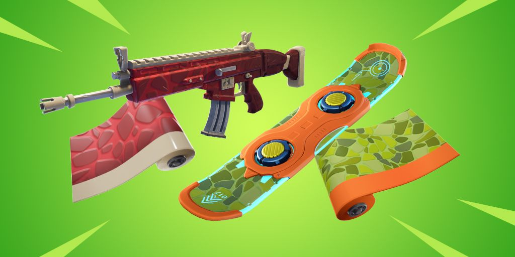Fortnite Item Shop 23rd April  All Fortnite Skins & Cosmetics new Dino and Triassic Wraps  The Fortnite Item Shop has updated for the 23rd April. Here are all of the skins pickaxes emotes and gliders available today.  The Fortnite Item Shop has updated to display new cosmetics for the 23rd April 2019.  Yesterdays Item Shop featured the return of the Malice and Sanctum skins and the previously leaked Heat wrap finally made its way into the Item Shop.  Other cosmetics from yesterdays shop include