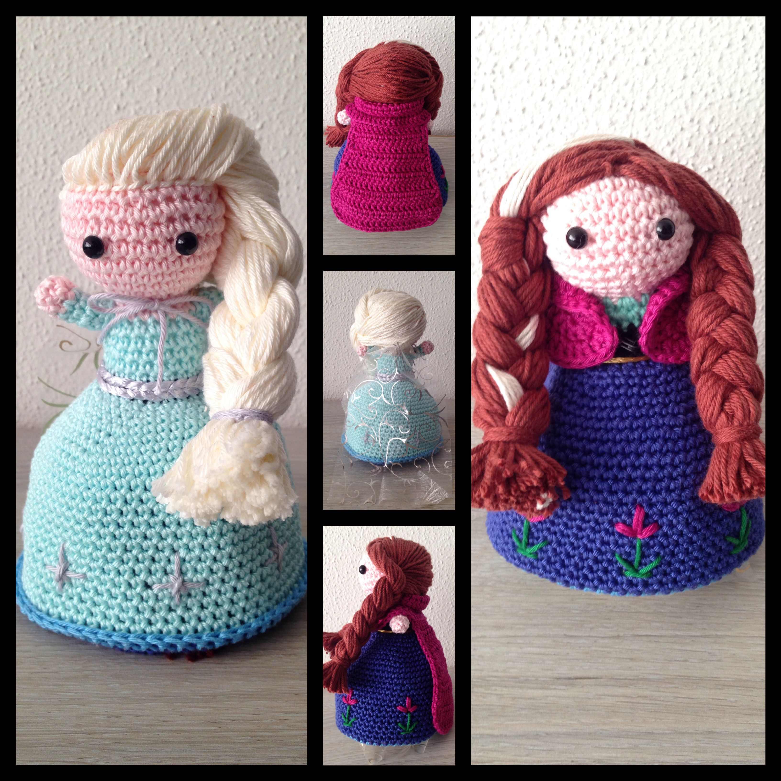 Topsy turvy Frozen doll! Anna and Elsa in 1!