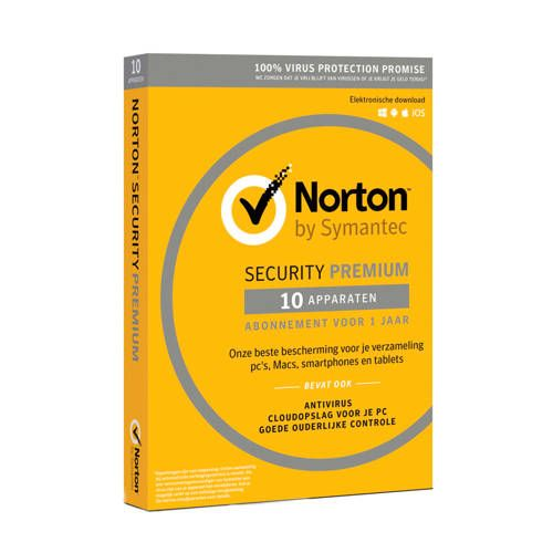 Symantec Norton Security Premium (10 Apparaten) In 2019