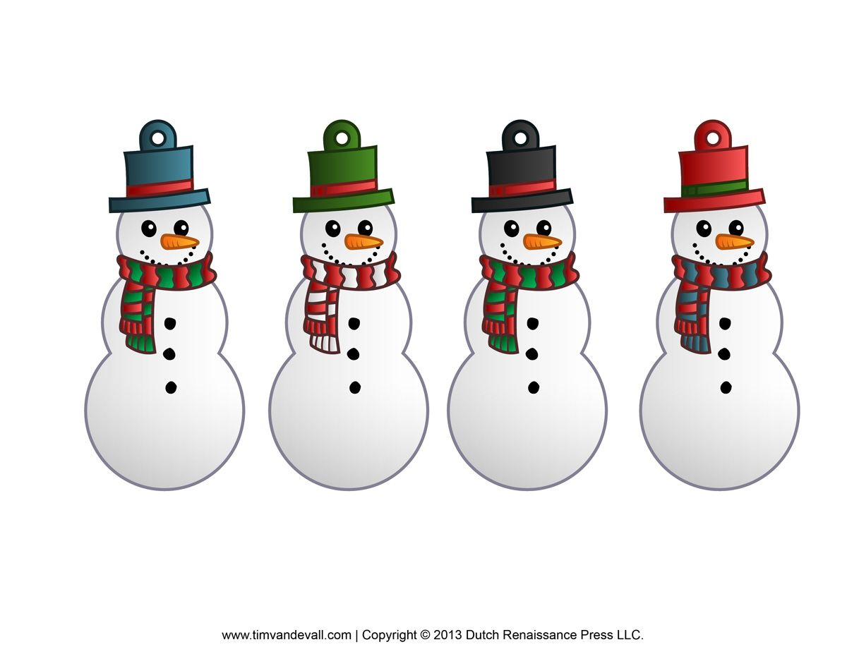 Http Timvandevall Com Snowman Clipart Template Printable Snowman Printable Christmas Decorations Snowman Clipart