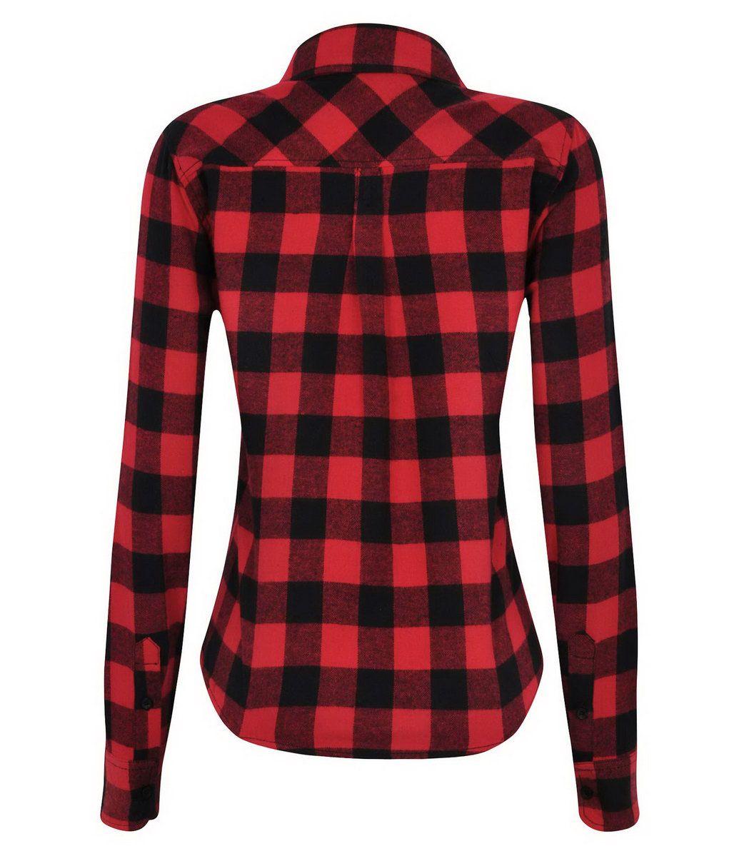 02be75608 Camisa Feminina Xadrez em Flanela - Lojas Renner