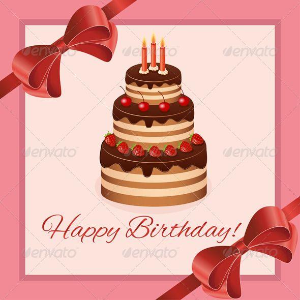 Birthday Greeting Card Design Art Design Inspiration Pinterest