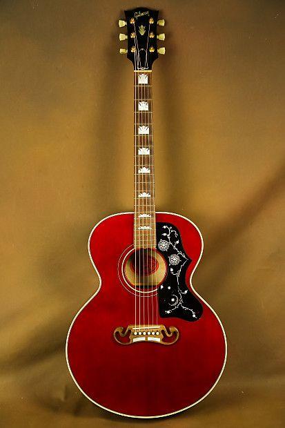 Gibson J 200 Jr Ren Ferguson Custom Acoustic Guitar Sj 200 The Acoustic Room Reverb Custom Acoustic Guitars Gibson Acoustic Best Acoustic Guitar