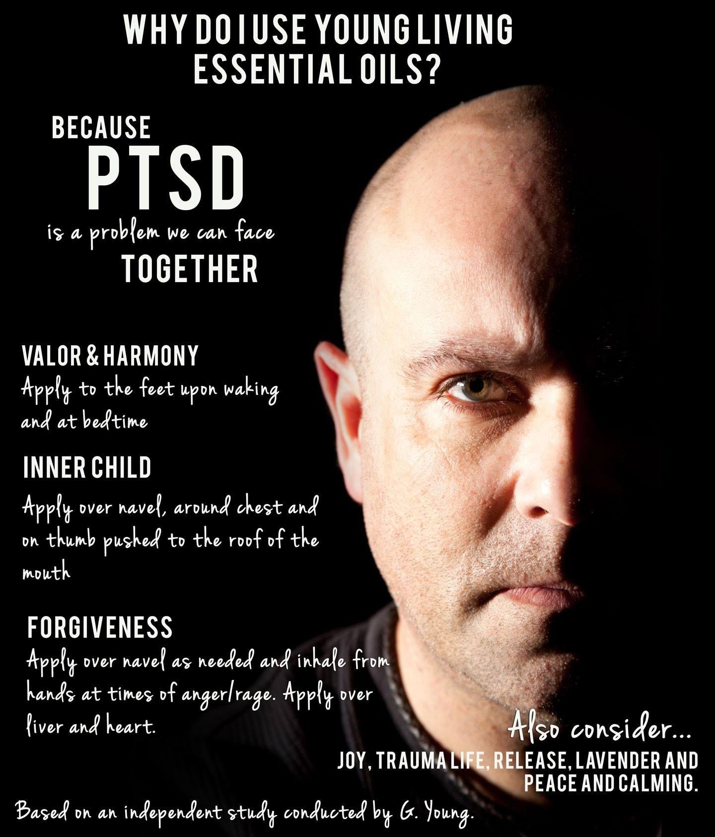 Essential Oils for PTSD. | young living | Essential oils ...