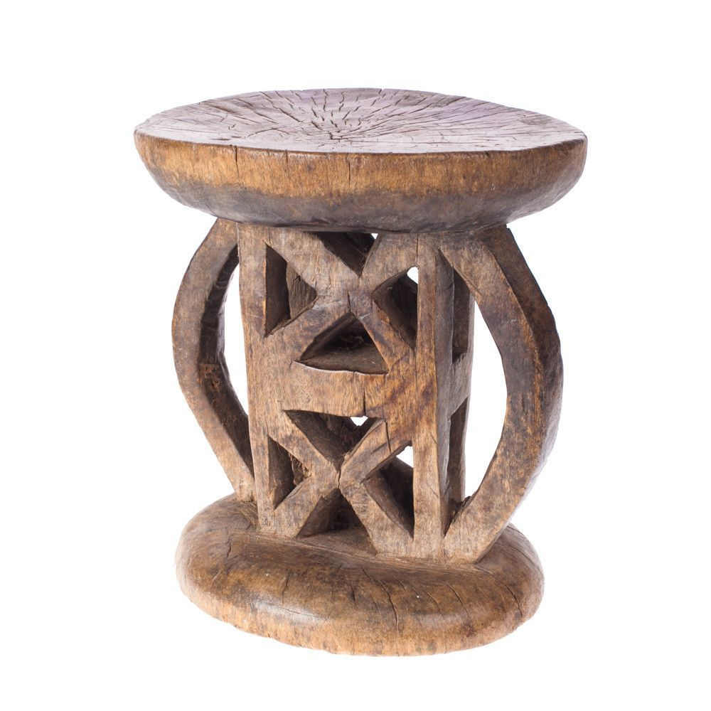 Tonga stool geometric