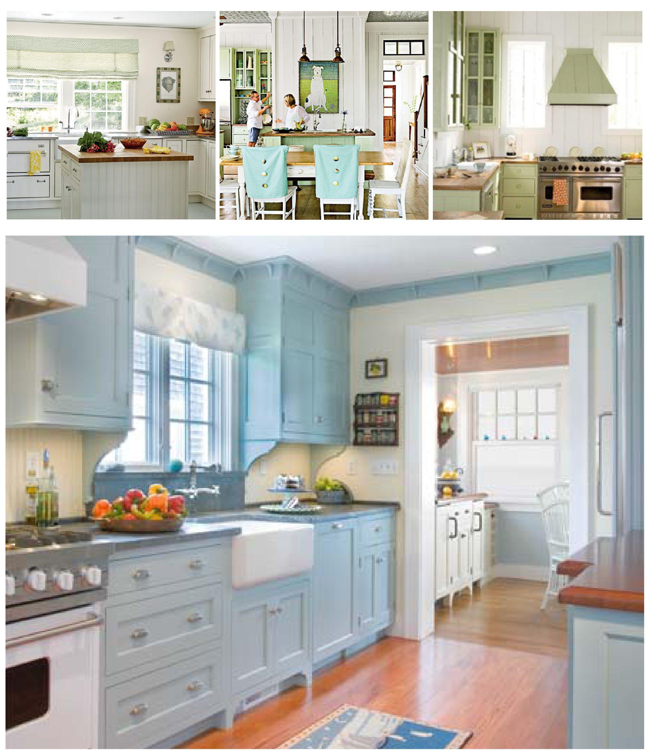 Blue kitchen   Light blue kitchens, Blue kitchen walls ...