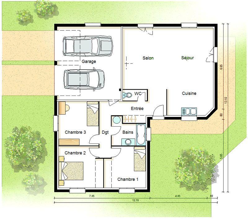 Plan maison bbc basse consommation et conomie d 39 nergie for Plan de maison basse