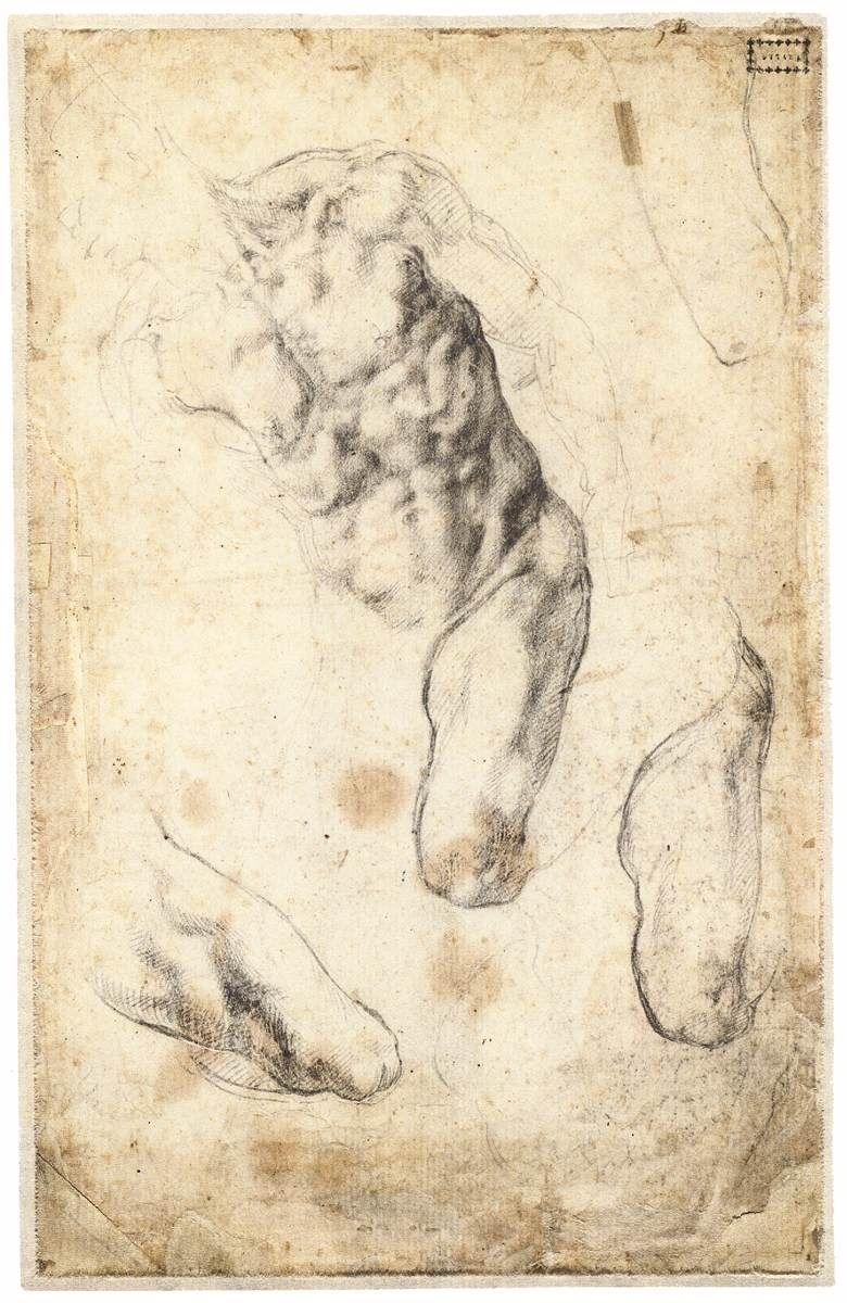 michelangelo buonarroti drawings | michelangelo buonarroti b 1475 ...