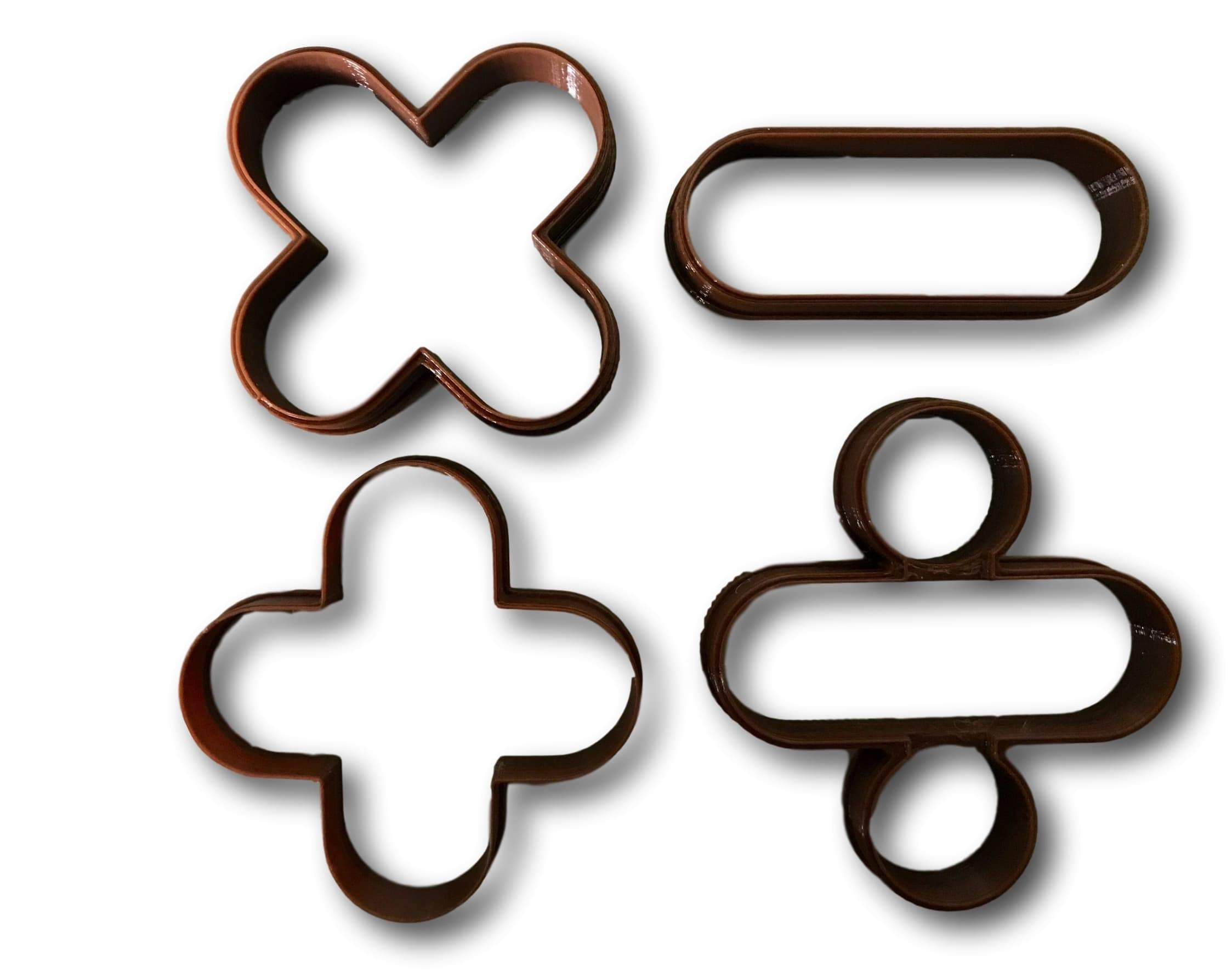 Math signs and symbols cookie cutters set of 4 products math signs and symbols cookie cutters set of 4 biocorpaavc Image collections