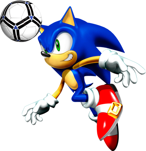 Mcdonalds Happy Meal Football Soccer Render Sonic Sonic The