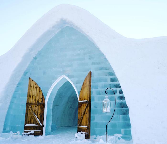 L'Hôtel de glace de Québec - 10 activités à (s')offrir à la Saint-Valentin