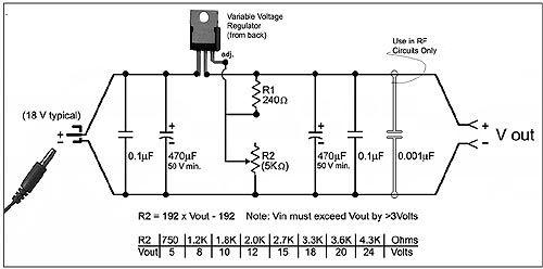 adjustable voltage