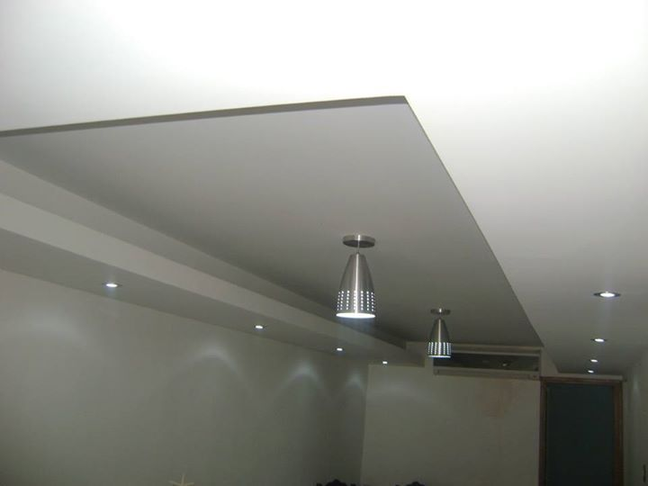 Cielo raso 4 decoraci n casa pinterest cielo y for Techos en drywall modernos