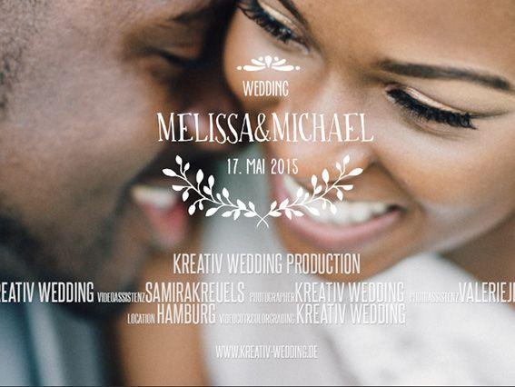 Melissa & Michael afrikanische Hochzeit Hamburg #afrikanischehochzeiten