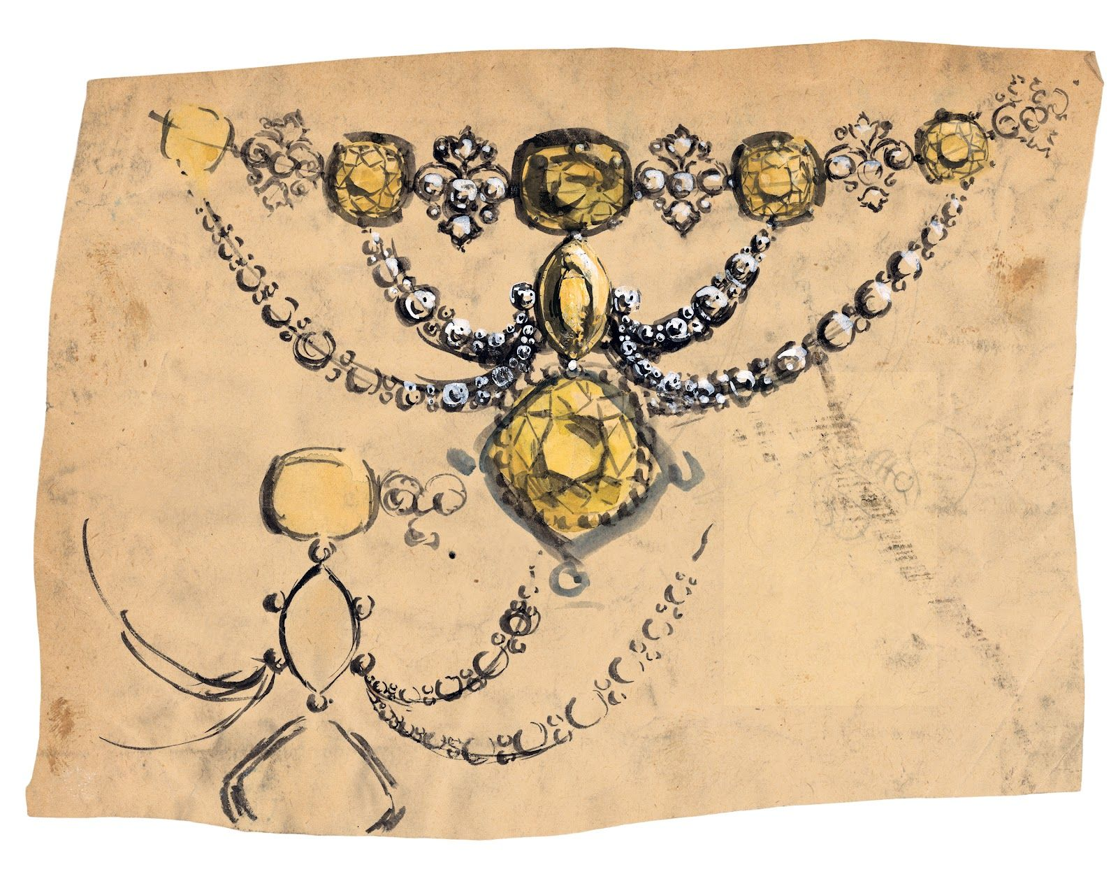 Tiffany Co Jewellery Illustrations - BritishBeautyBlogger