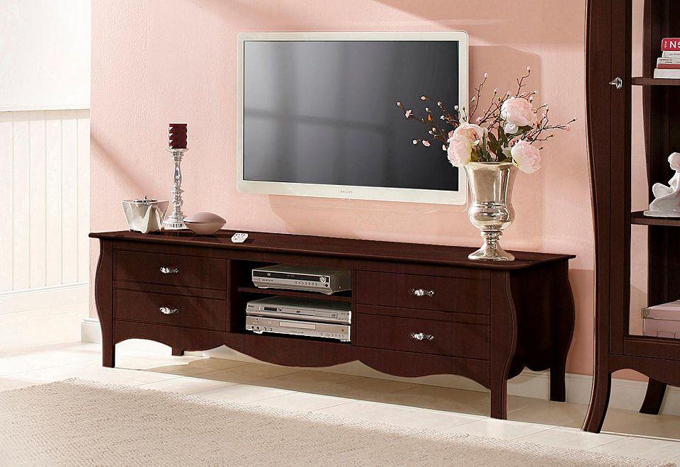 Home affaire Lowboard »Kristine«, mit vier Schubladen, Breite 180 - schrank für wohnzimmer