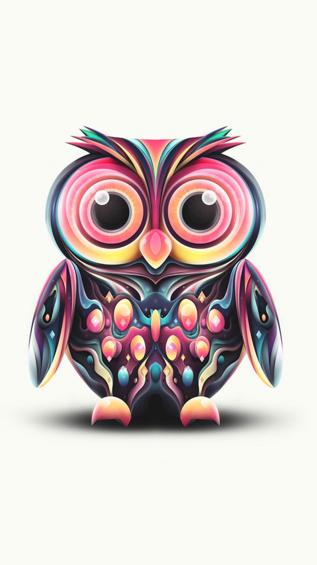 Cute Owl Android Iphone Desktop Hd Backgrounds Wallpapers 1080p 4k 104700 Hdwallpapers Androidwa Cute Owls Wallpaper Owl Wallpaper Owl Background