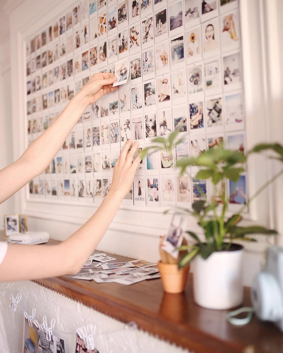 Accrocher ses photos : DIY et idées originales #selbstgemachtezimmerdeko