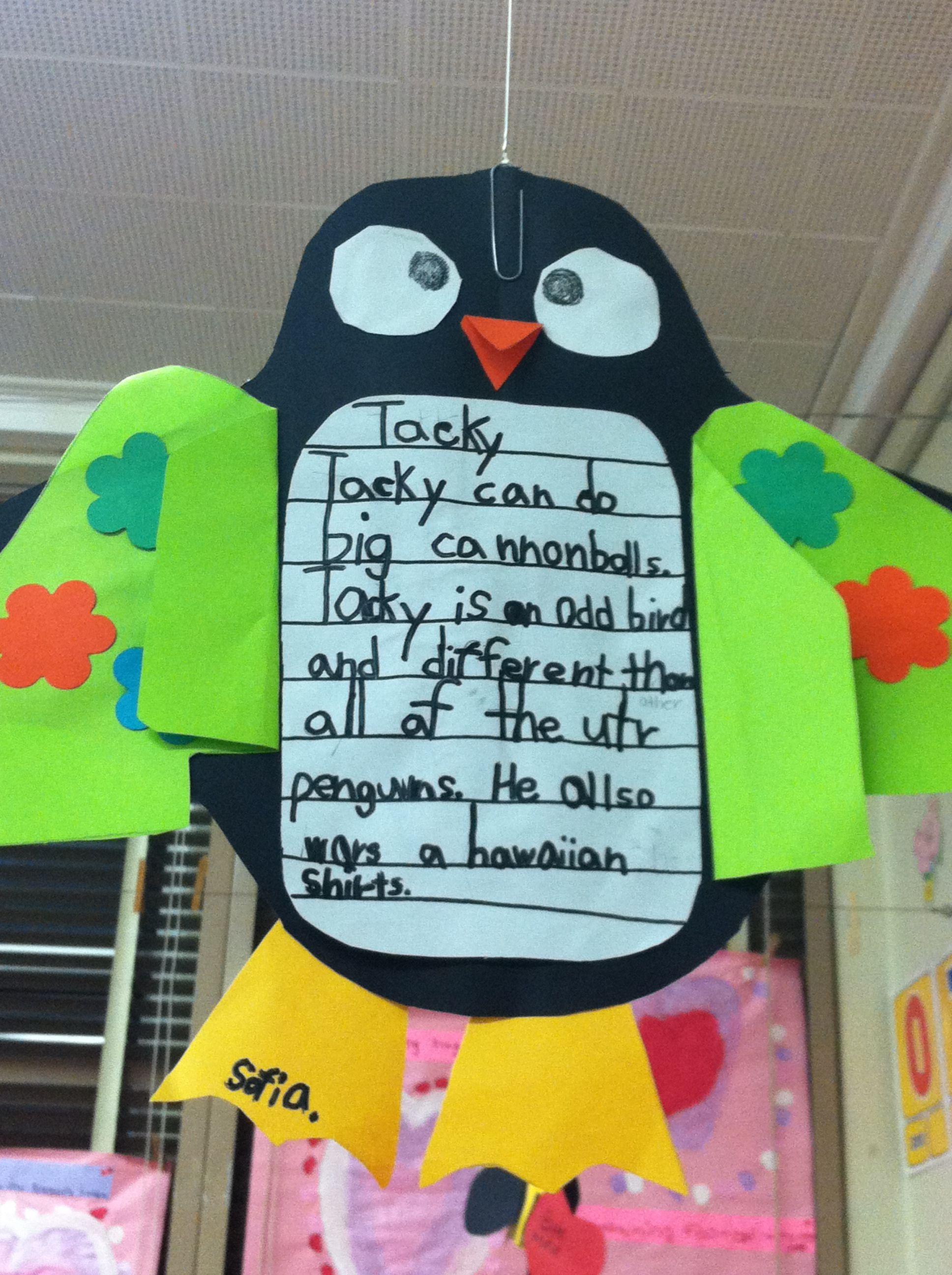 Tacky The Penguin Fiction Writing